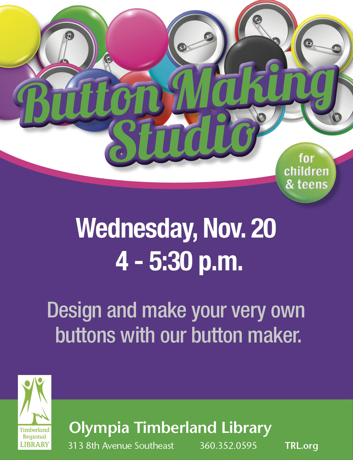 Button Making Studio