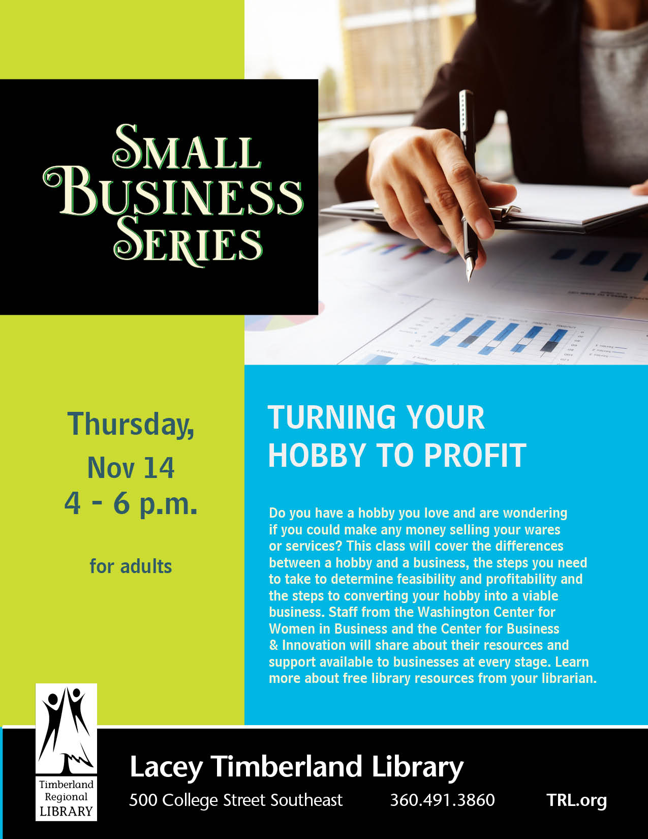 Small Business Series: Turning Your Hobby to Profit