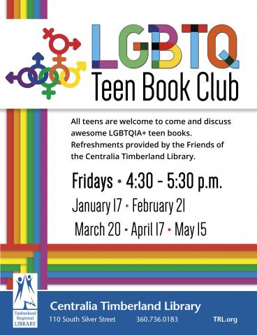 LGBTQ Teen Book Club